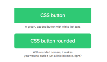 CSS Basics: How to make a CSS rounded corners button link
