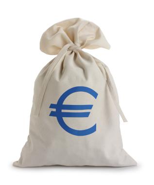 zak met geld - Ontslag.nl