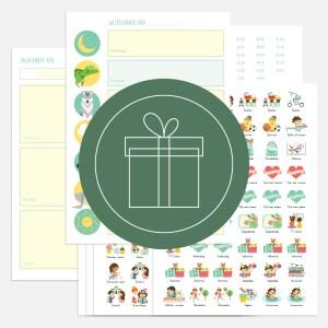 weekplanner dagplanner totaal kind ontwerp door lindy cadeau