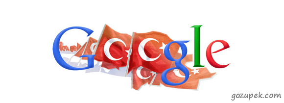 Google - Cumhuriyet Bayramı