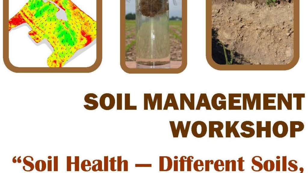 Soil Management Workshop 2016