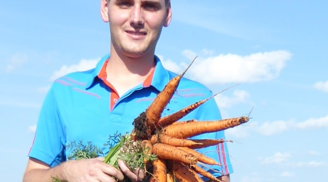 OMAFRA Welcomes Dennis Van Dyk as Vegetable Crops Specialist