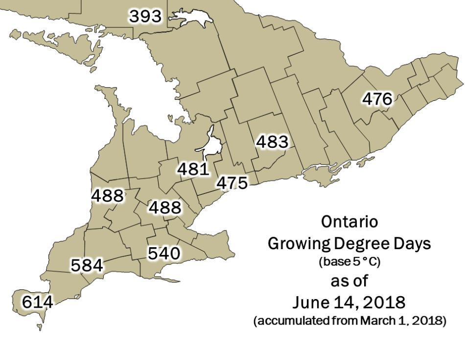 Ontario DD Map June 14