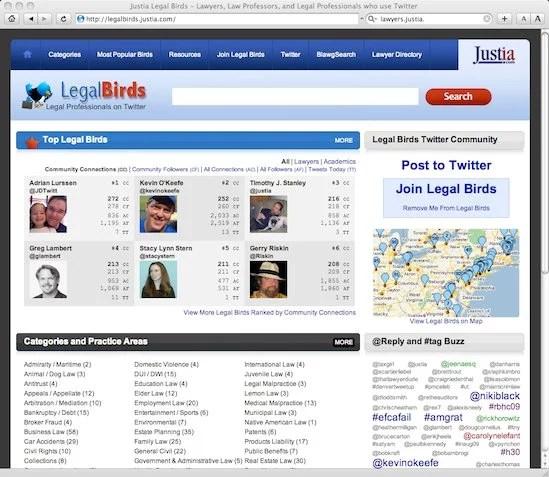Justia LegalBirds.com