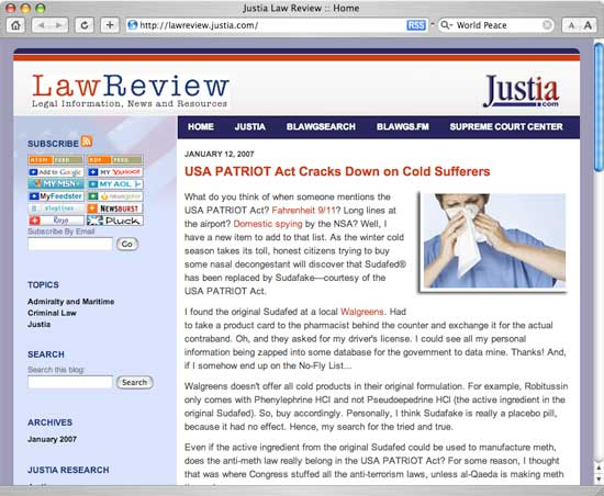 Justia Law Review Blog