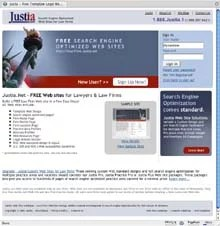 Free Law Firm Web Sites from Justia