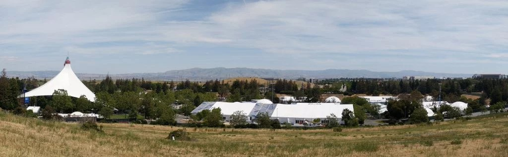 Panorama of the I/O 17 Festival Grounds