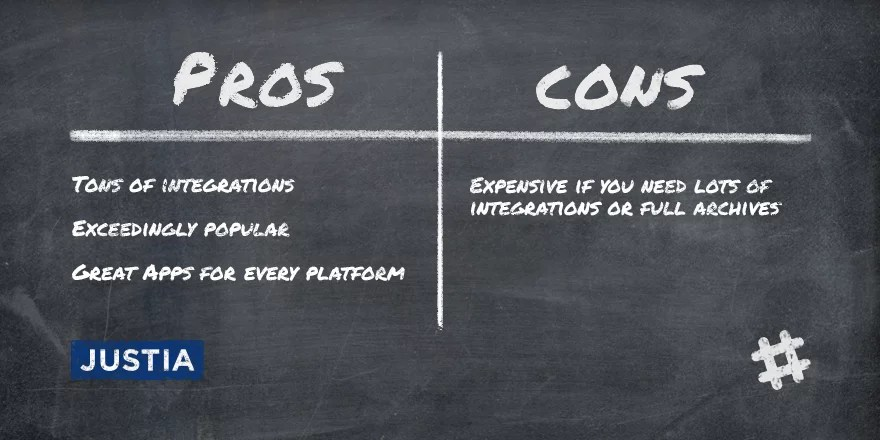 Slack Pros and Cons