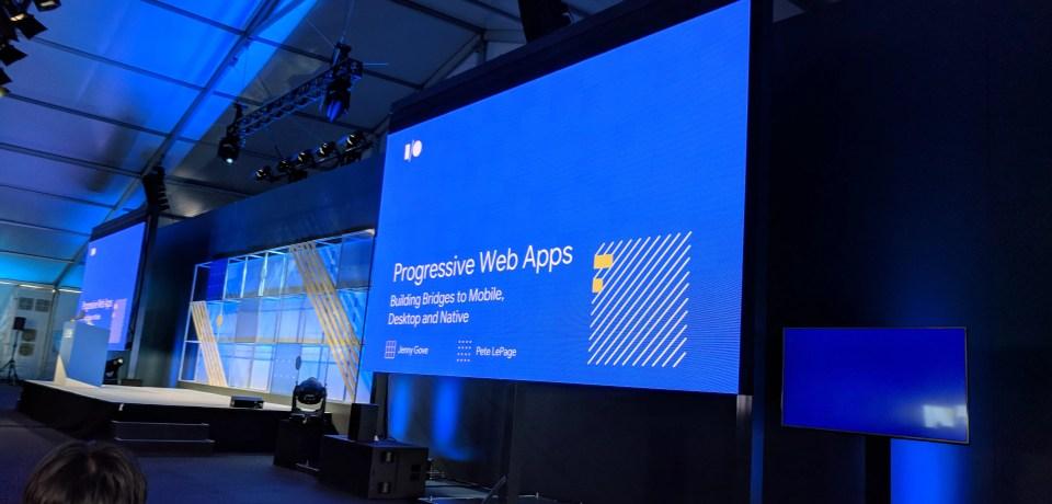 PWAs: building bridges to mobile, desktop, and native — #io18 Live Blogs