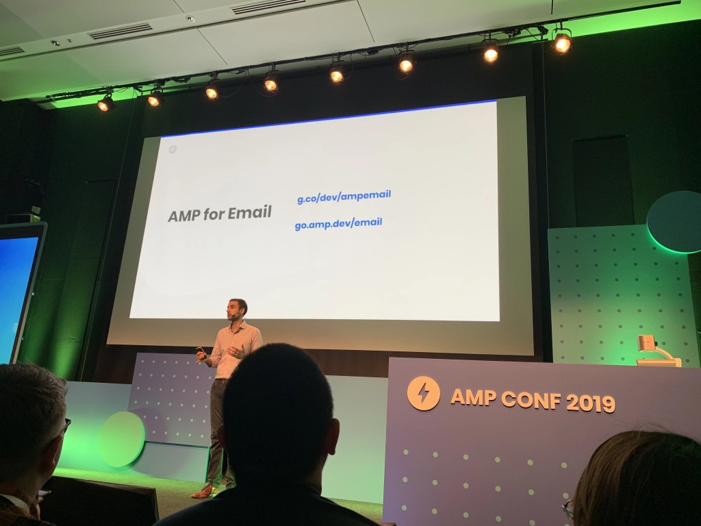 AMP for Email is rolling out