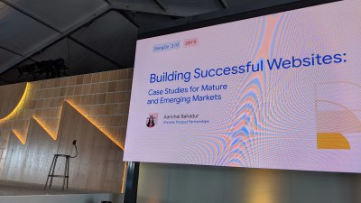 Building Successful Websites: Case Studies Mature and Emerging Markets — #io19 Live Blogs