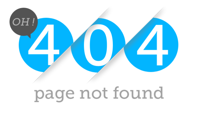 404 Page not found Balck Friday