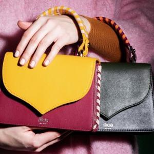 Ladies Leather top-handle handbag, Illicia, Onwards and Up London