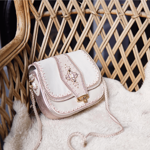 embellished handbags and accessories, Buba London