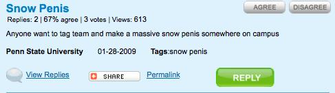 snow-penis