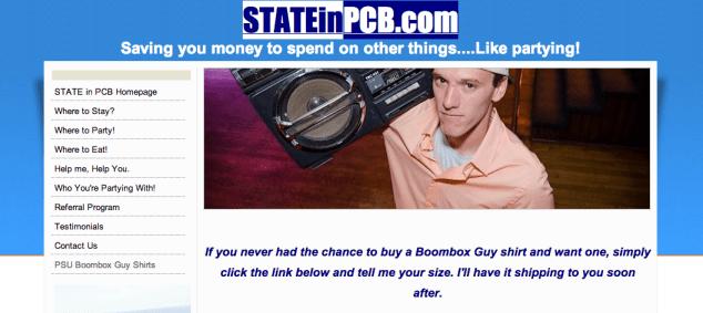 State in PCB BBG Tshirt
