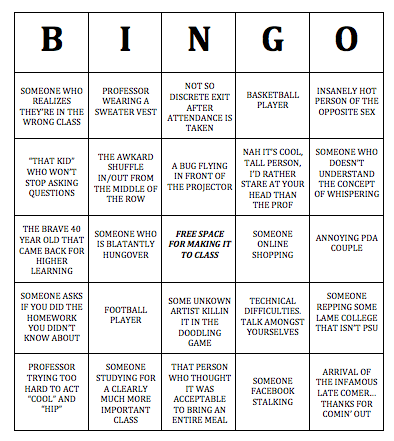 BINGO updated