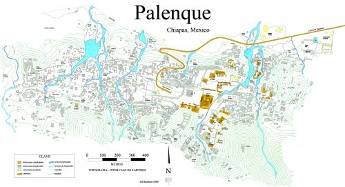 Palenque Map complete
