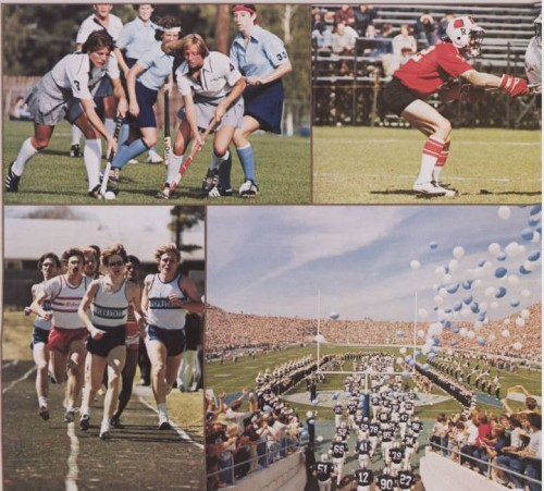 A glimpse of Penn State sports in 1979. (From La Vie 1979)