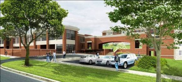 South Halls Rendering
