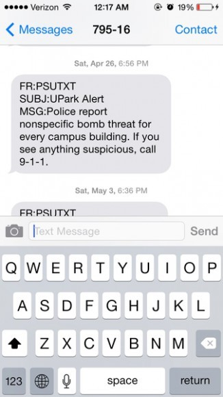 nonspecific bomb threat