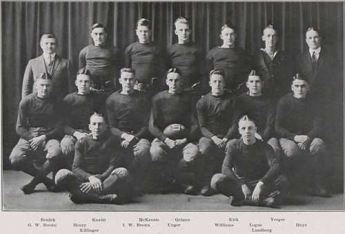 1918 Penn State football team coached by Hugo Bezdek