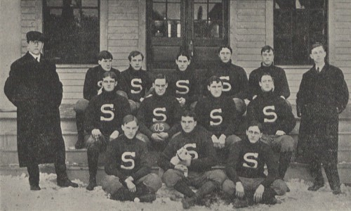 1903 Penn State football team coached by Dan Reed