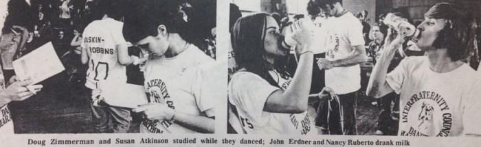 Dancers in 1974
