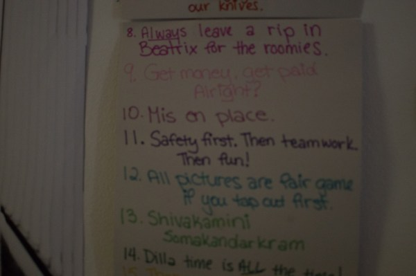 OS Cribs Nick Towers House Rules 2