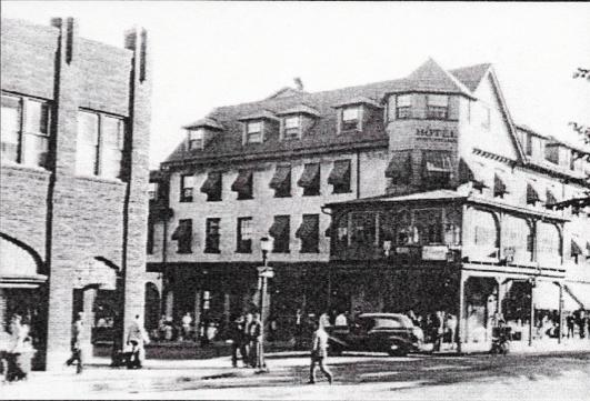 Hotel State College, 1939 Photo: Penn State Alumni Association