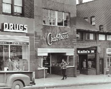 Crabtree Building, 1947 Photo: Penn State Alumni Association