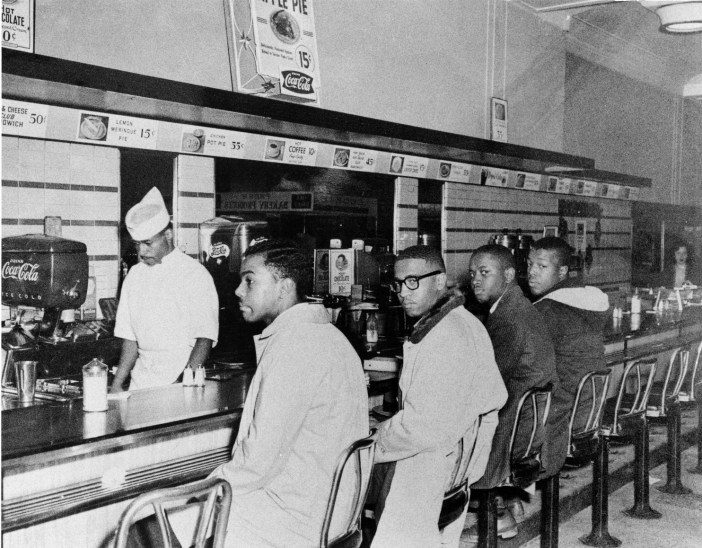 Russell's hometown was home to the famous Greensboro sit-ins