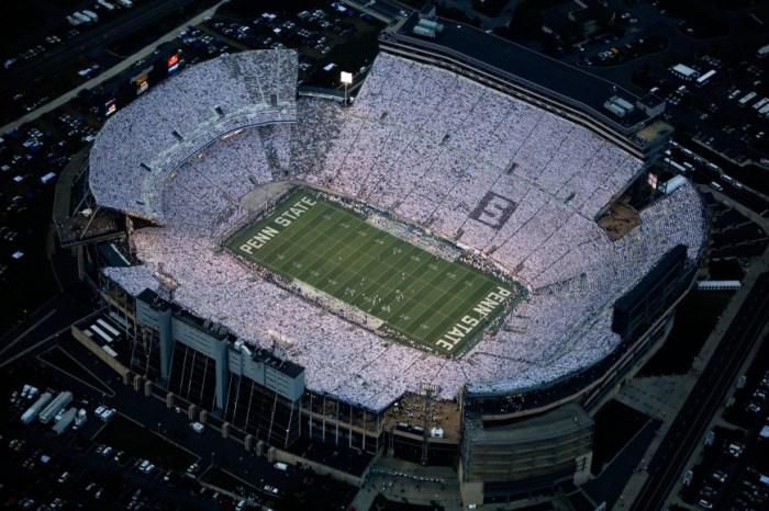 Present day Beaver Stadium