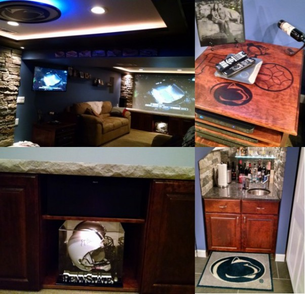 Penn State Themed Rooms 3