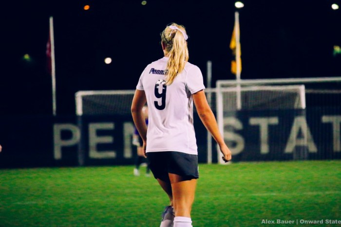 Frannie Crouse Women's Soccer vs. Maryland 2015