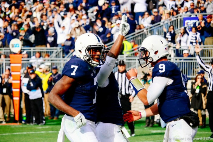 Mark Allen, Geno Lewis, Trace McSorley Football Illinois 2015