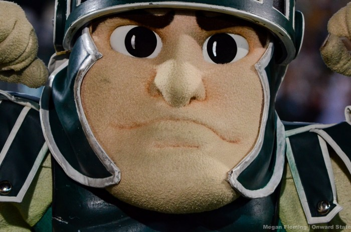 Sparty spartans michigan state