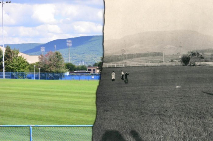 Penn State: Then and Now
