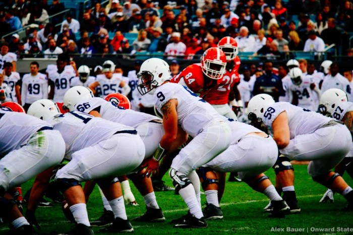 Trace McSorley Football Taxslayer Bowl Georgia 2016