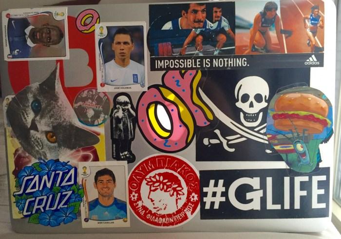 Natty Nittany: Laptop Stickers Edition