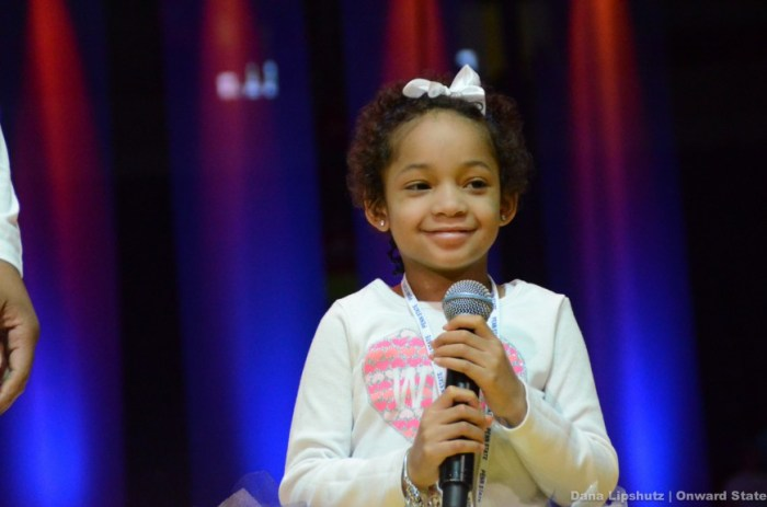 Leah Still smile captures the hearts in the BJC.