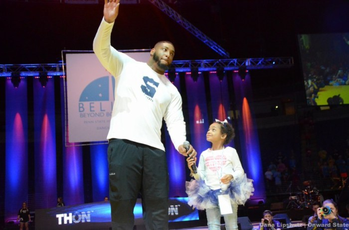 Devon and Leah Still engage the crowd with a 'We Are' chant to shake the BJC.