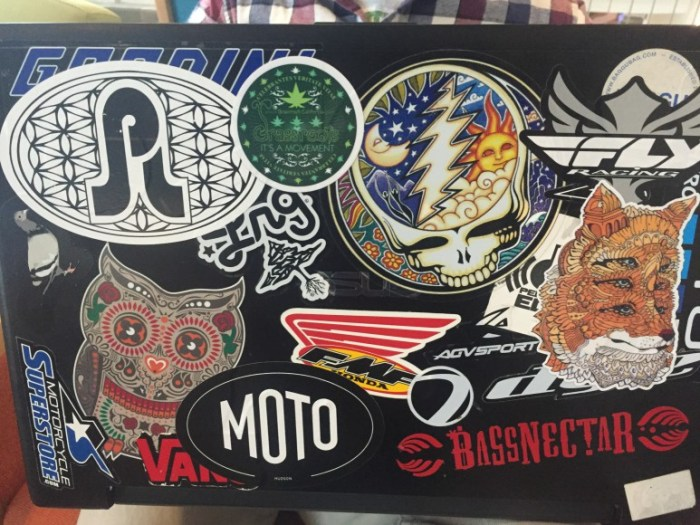 Natty Nittany: Laptop Stickers Edition