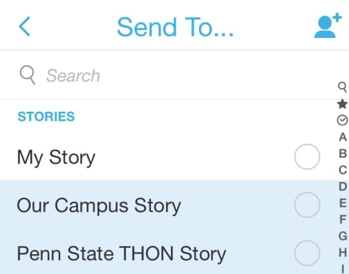 THON Snapchat Story