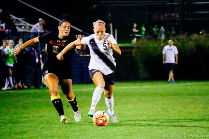 Maddie Elliston women's soccer
