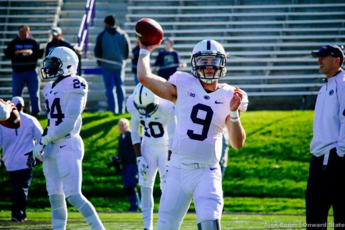 Trace McSorley at Northwestern