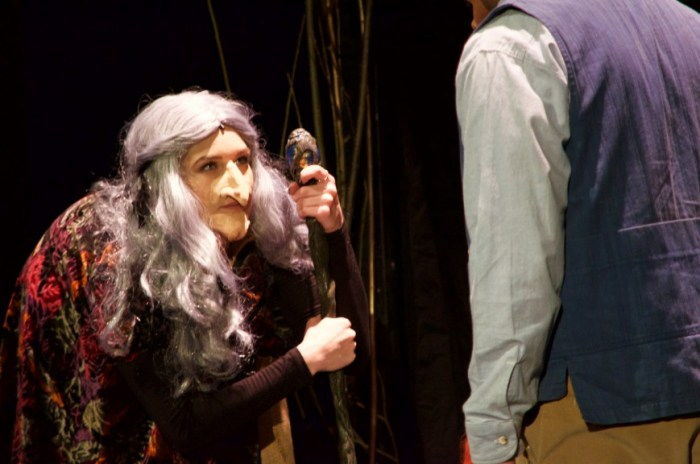 The Witch convinces the Baker and his Wife to whip up some special ingredients...