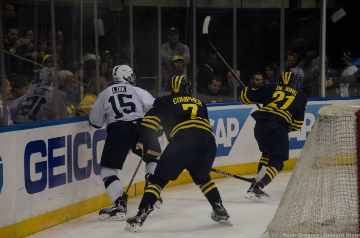 michigan hockey msg