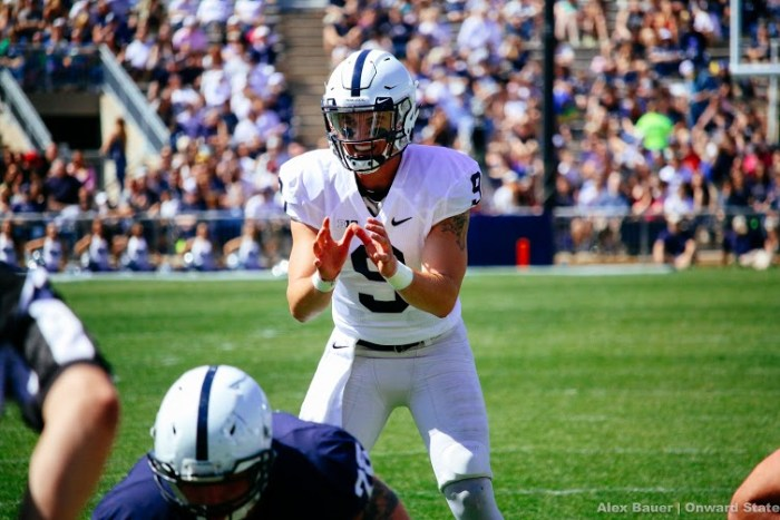 Trace McSorley Blue-White