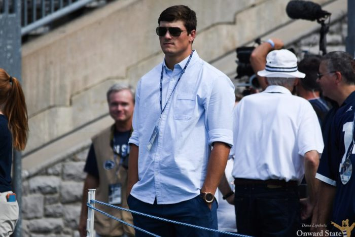 Hackenberg comes to support the team during Kent State Football Fall 2016